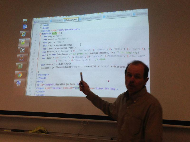2016-03-22 LAMP-Javascript class